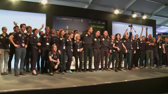 The first attempt to fly around the world in a solar powered plane will take off from Abu Dhabi on Monday its pilots said in a landmark journey aimed...