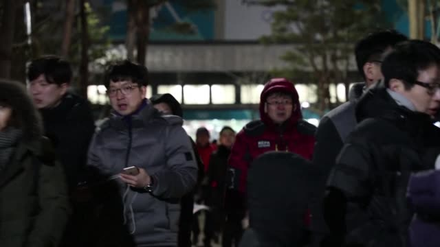 the first combined korean team in olympic history suffered a resounding 80 defeat to switzerland in women's ice hockey at the pyeongchang winter... - winter sports event stock videos and b-roll footage