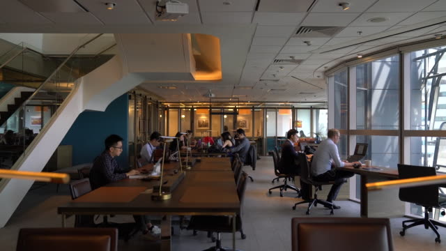 the first coworking space in a sixstar hotel it will occupy 15000 square feet in one wing in singapore on sunday may 12 2019 - office stock videos & royalty-free footage