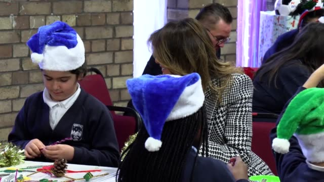 the first lady of the united states, melania trump, visits the salvation army clapton centre in london during her visit to the uk. the visit comes as... - salvation army stock videos & royalty-free footage