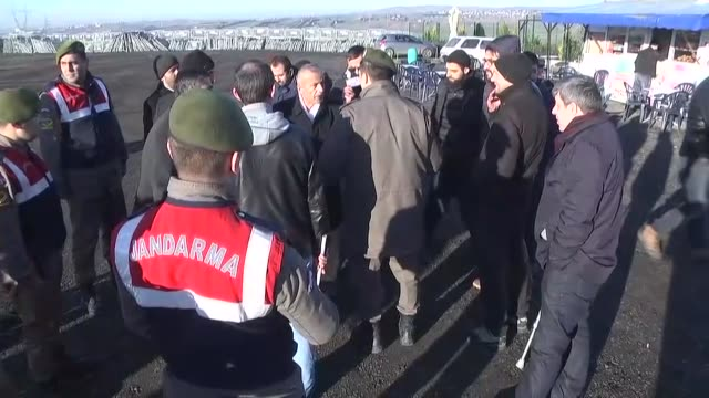 the first trial into turkey's july 15 coup attempt began at silivri penitentiaries campus in istanbul on december 27 2016 amid tight security... - coup d'état stock videos & royalty-free footage