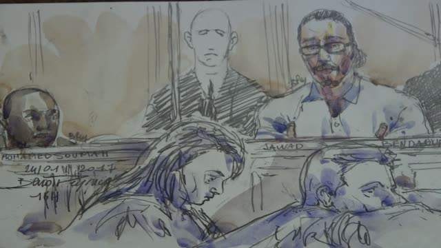 The first trial stemming from the November 2015 Paris terror attacks opened on Wednesday with Jawad Bendaoud appearing in court who is charged with...