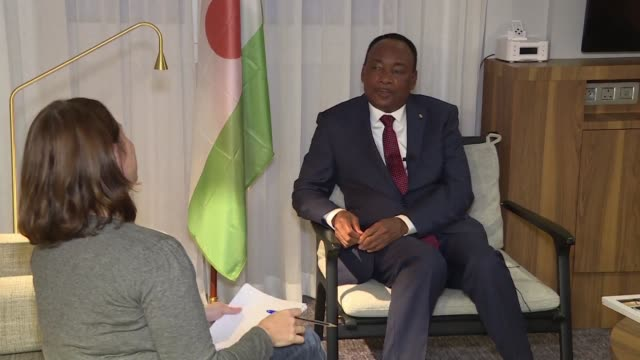 the five african countries in the g5 sahel force are fighting the jihadist groups in the region for the good of the whole world niger president... - mahamadou issoufou stock videos and b-roll footage