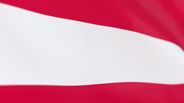 the flag of austria loop - traditionally austrian stock videos & royalty-free footage