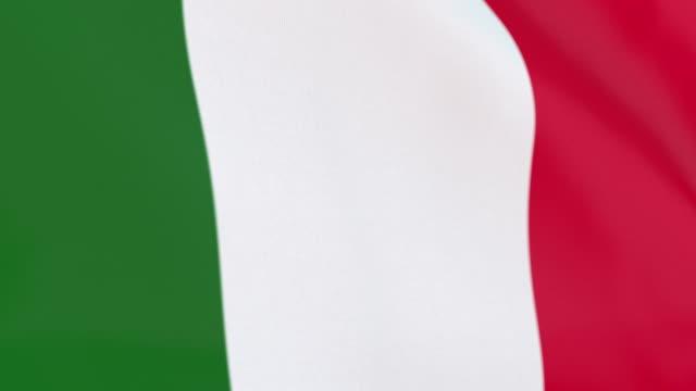 stockvideo's en b-roll-footage met de vlag van italiaanse lus - italian culture