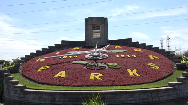 The Flower Clock in Niagara