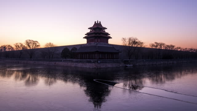 T/L The Forbidden City at Sunrise / Beijing, China