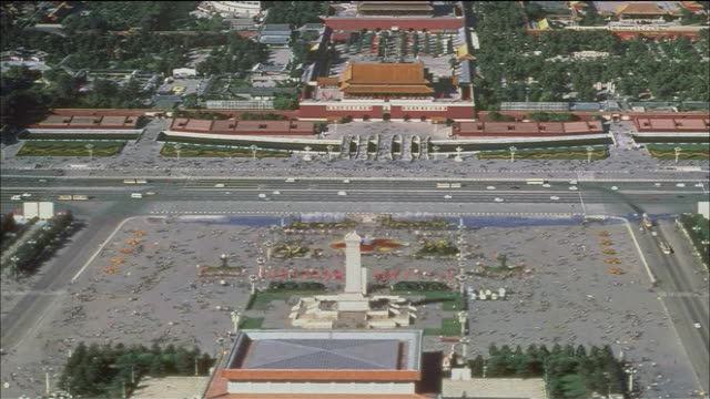 the forbidden city - pechino video stock e b–roll