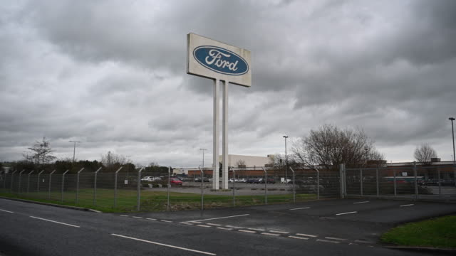 the ford engine plant on january 12, 2019 in bridgend, wales. ford has announced a shake-up of its european operations which could lead to the loss... - ford motor company stock videos & royalty-free footage