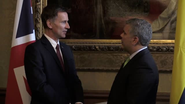 The Foreign Secretary Jeremy Hunt met the Colombian President and Environment Minister Together they signed a Memorandum of Understanding on the...