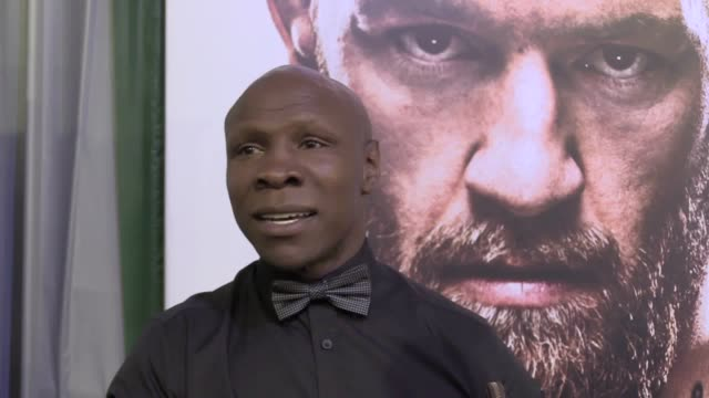the former british boxer, chris eubank, discusses the upcoming mayweather versus mcgregor boxing match, in las vegas. he believes conor mcgregor may... - chris eubank sr. stock videos & royalty-free footage