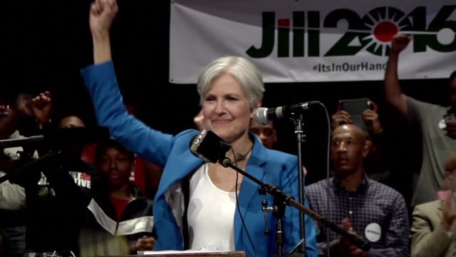the former green party presidential candidate jill stein has raised the necessary $11 million to request a vote recount in wisconsin - jill stein stock videos and b-roll footage