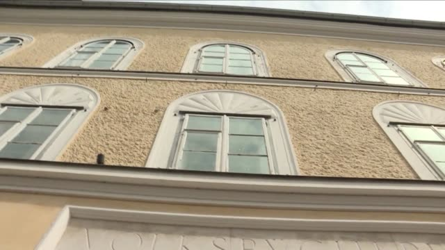 the former owner of the house where adolf hitler was born has launched a legal battle against the austrian government for expropriating the building... - österrikisk kultur bildbanksvideor och videomaterial från bakom kulisserna