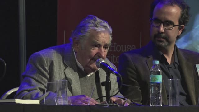 the former president of uruguay jose mujica launches his biography in buenos aires - biography stock videos & royalty-free footage