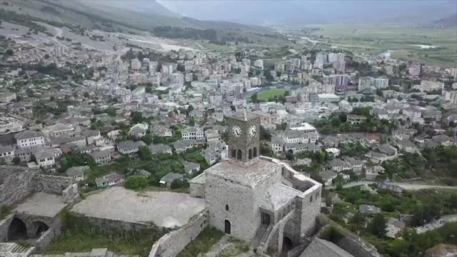 The fortified centuriesold houses of Gjirokastra that earned the Albanian city the prestigious UNESCO World Heritage site designation in 2005 are...