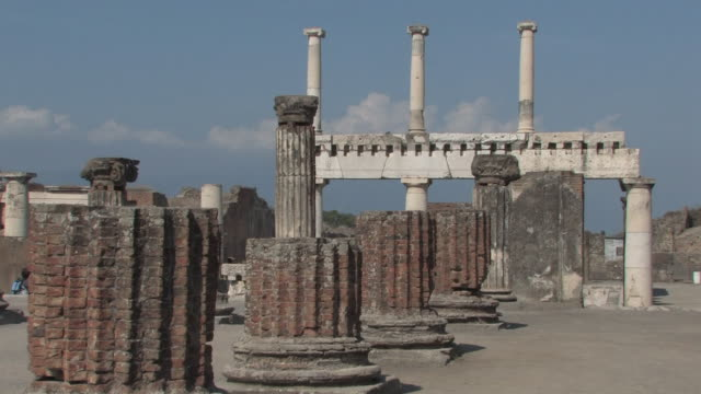 The Forum of Pompeii
