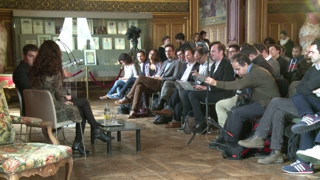 The founder of Airbnb Brian Chesky meets the deputy mayor of Paris to discuss regulations being imposed on the holiday rental website to avoid unfair...