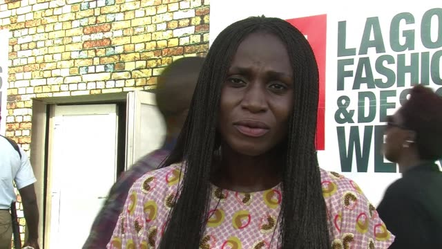 the founder of lagos fashion week omoyemi akelere has strongly criticised the importation of foreign materials which she says has ruined the countrys... - fashion show stock videos & royalty-free footage