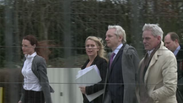 the founder of the wikileaks whistleblowing site julian assange is back in court in london to fight his extradition to sweden. london, greater... - greater london stock videos & royalty-free footage