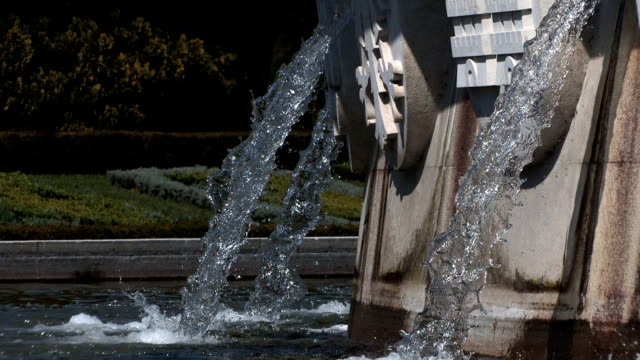 the fountain closer - belém brazil stock videos and b-roll footage