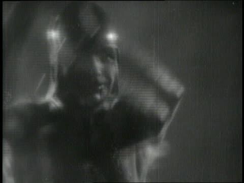 the four horsemen of the apocalypse ride through the mist at night. - 神話点の映像素材/bロール