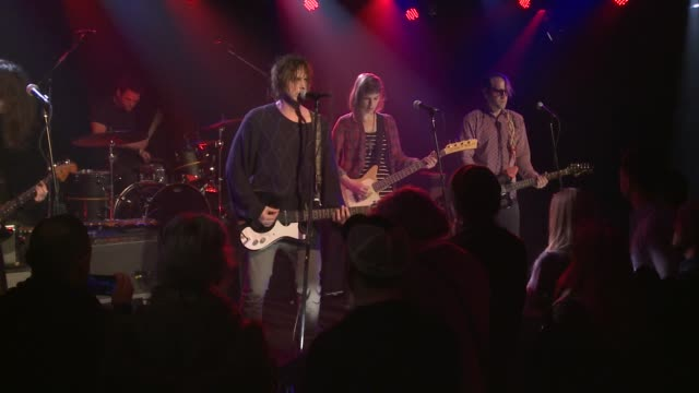 the four-piece band broncho brought their roughneck pop-punk sound to the jbtv stage with their song 'stay loose.' - punk music stock videos & royalty-free footage