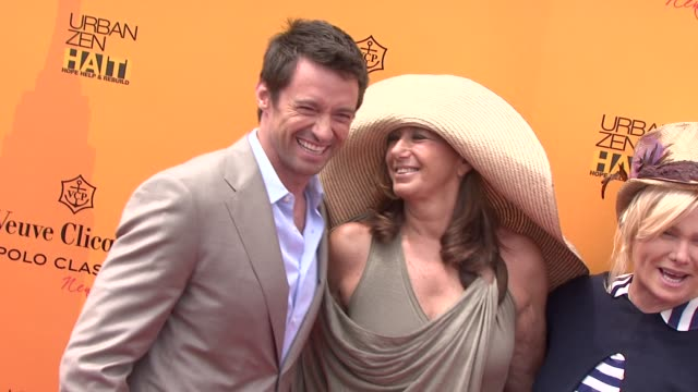the fourth annual veuve clicquot polo classic, new york, ny, united states, 06/05/11. - デザイナー マーク・ジェイコブス点の映像素材/bロール
