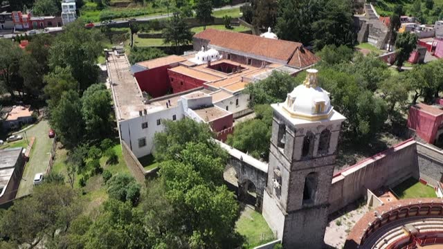 MEX: STOCKSHOTS: Franciscan Monastery, Cathedral of Our Lady of the Assumption of Tlaxcala