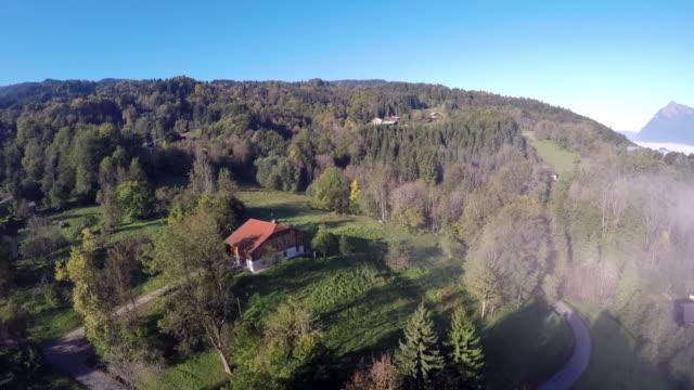 vidéos et rushes de the french alps - scène rurale