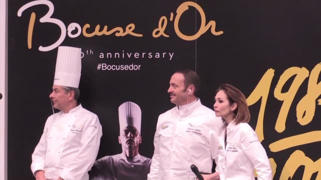 the french cooking competition le bocuse d'or ends on wednesday in lyon - dor stock videos & royalty-free footage