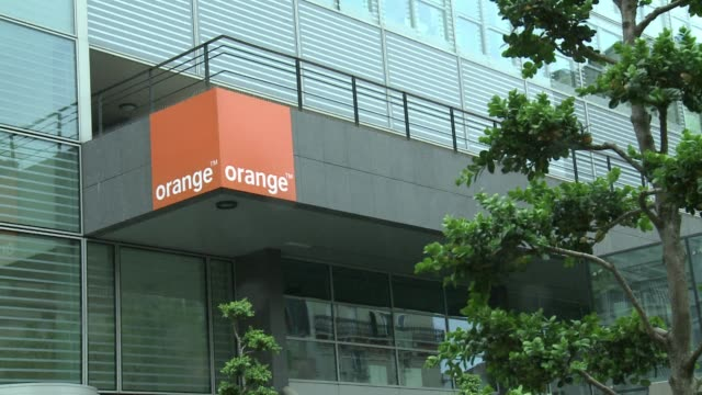 the french government says stephane richard may not be able to remain head of telecoms company orange of which the french state owns 27 percent after... - telecommunications equipment stock videos & royalty-free footage