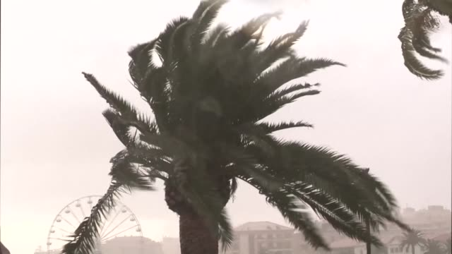 The French island of Corsica is placed on red alert as a violent storm of exceptional scale is expected on the island according to Meteo France...