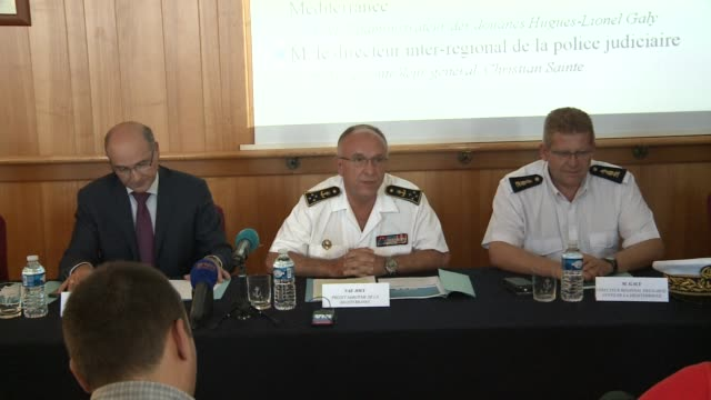 the french navy says it has made a record cannabis seizure in the mediterranean sea after intercepting a ship carrying 20 tonnes of cannabis worth up... - intercepting stock videos and b-roll footage