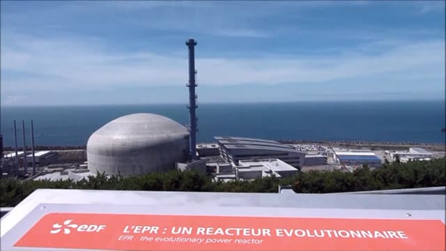 the french nuclear safety authority has asked the edf group to repair eight defective welds at the flamanville nuclear power plant which the utility... - nuclear reactor stock videos & royalty-free footage