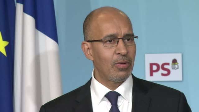 the french socialist party says it is entering into electoral alliances with the green and communist parties with a view to blocking further progress... - national front stock videos and b-roll footage