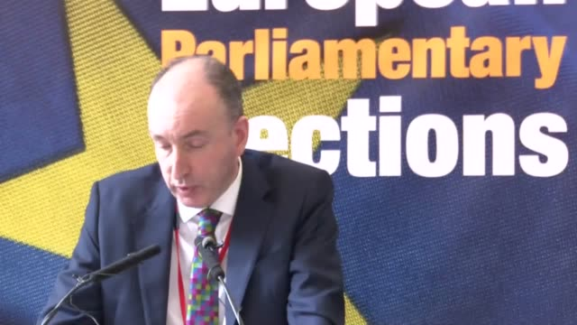 the full announcement of the european election results in scotland where the snp won 377% of the vote followed by the brexit party and the liberal... - british liberal democratic party stock videos and b-roll footage