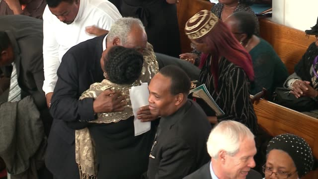 WGN The funeral for Jovan Wilson the 15yearold grandson of Congressman Danny Davis who was shot to death in what police say was a dispute of a pair...