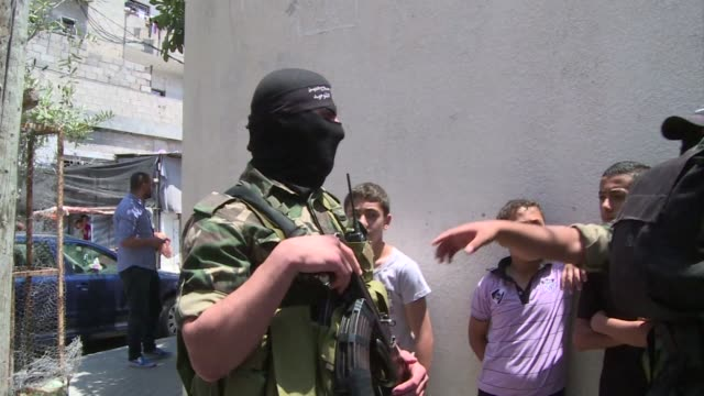 The funeral of a Palestinian man killed on Wednesday by an Israeli air strike was held on Thursday in Beit Lahia