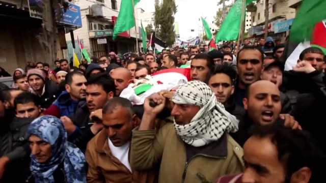 The funerals of two of the three Palestinians who were shot dead Monday after carrying out attacks on Israelis were held Tuesday in in the southern...