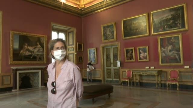 ITA: Rome's Galleria Borghese museum reopens