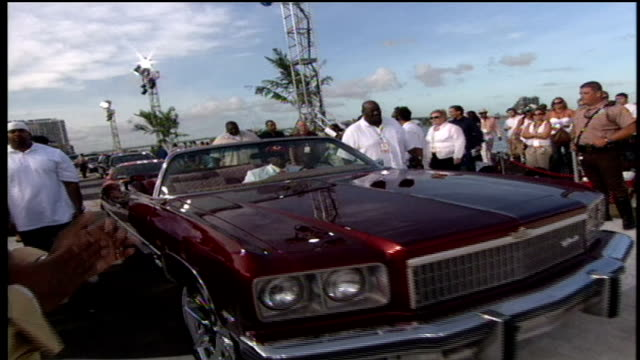 the game driving up to the red carpet in a 1975 chevy caprice - chevrolet stock videos & royalty-free footage