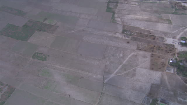 the ganges river runs between farmland. available in hd. - bangladeshi culture stock videos & royalty-free footage
