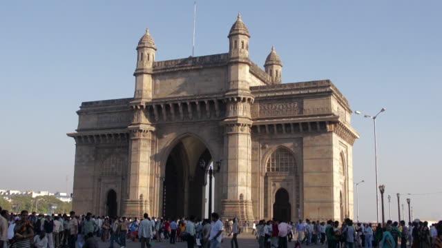 The Gateway of India and Harbor, Mumbai, Maharashtra, India