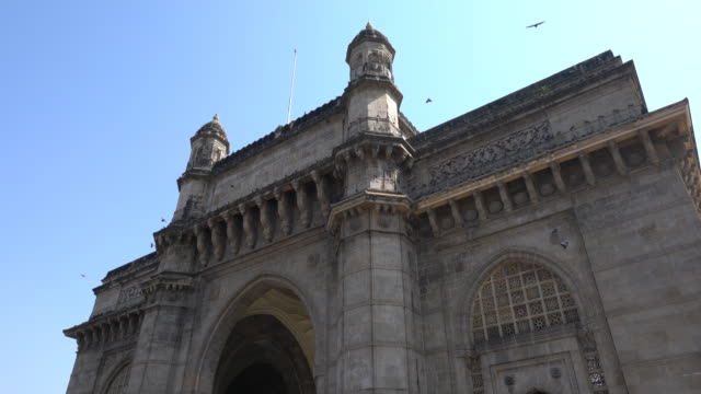 the gateway of india in mumbai - gate stock videos & royalty-free footage