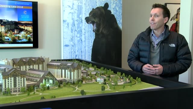 The Gaylord Rockies Resort and Conference center did a media tour that included a scale model and mockup of the massive hotel and conference center...