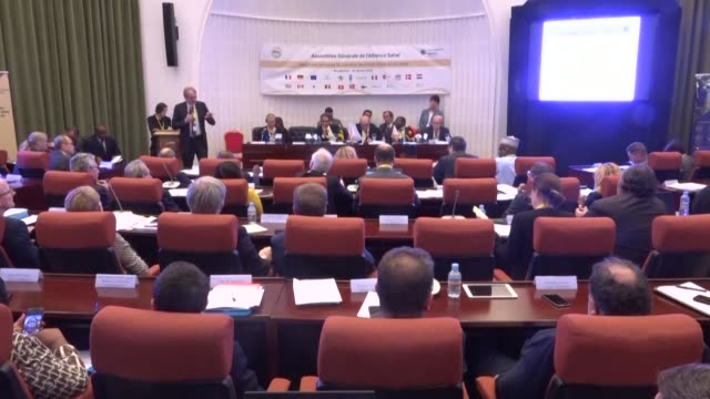the general assembly of the g5 sahel opens in nouakchott as officials meet for a summit in the mauritanian capital - nouakchott stock videos & royalty-free footage