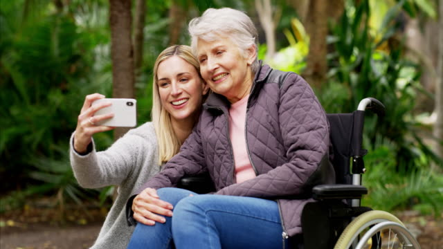 the generation of selfies - disability stock videos & royalty-free footage