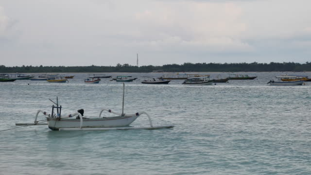 the gili islands, lombok. - north bali stock videos & royalty-free footage