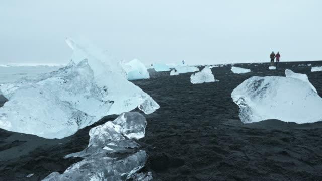 The glacier of Glacial Lake in Iceland