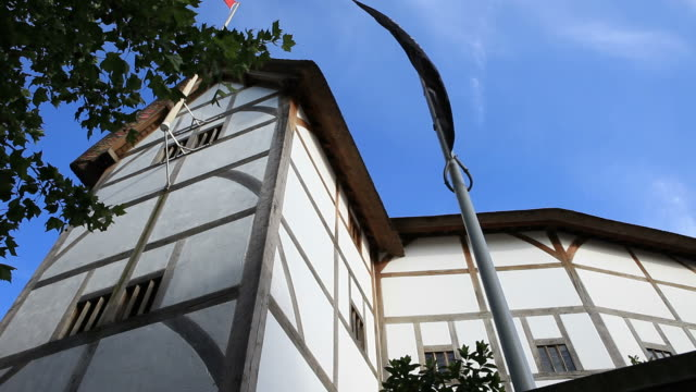 the globe theatre - william shakespeare stock videos & royalty-free footage